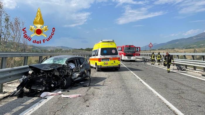 incidente mortale sulla Flaminia