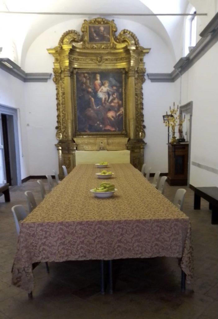 Il -punto di ristoro sociale San Lorenzo