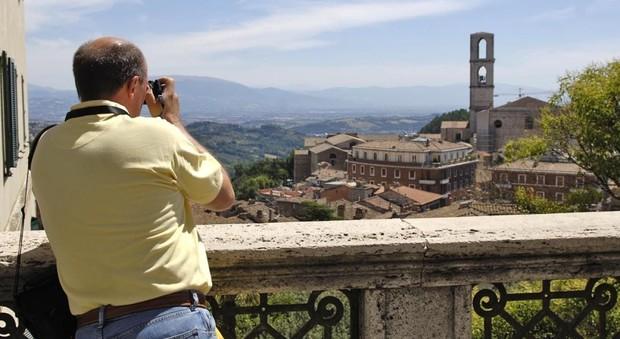 Un turista a Perugia