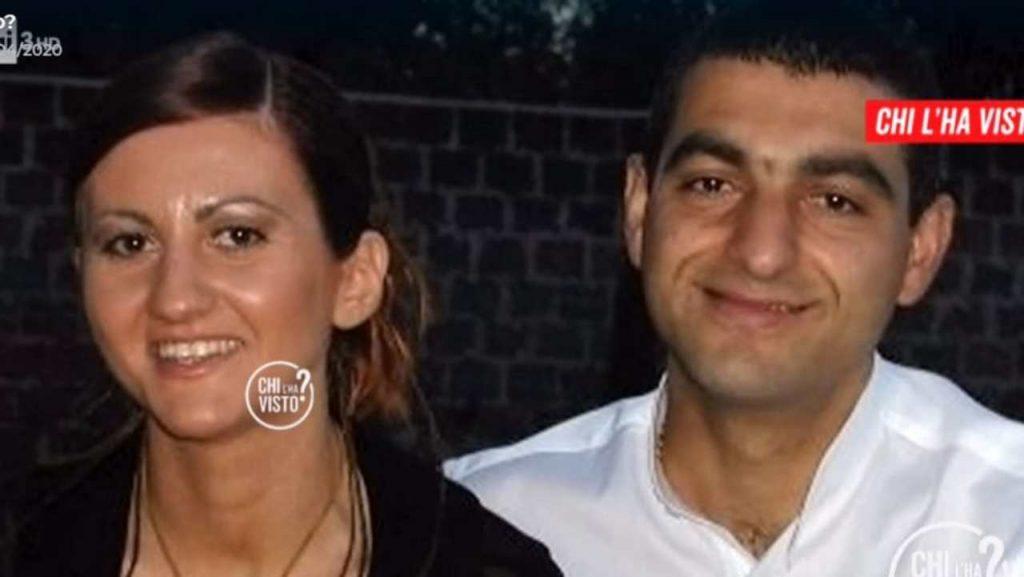 Barbara Corvi con il marito