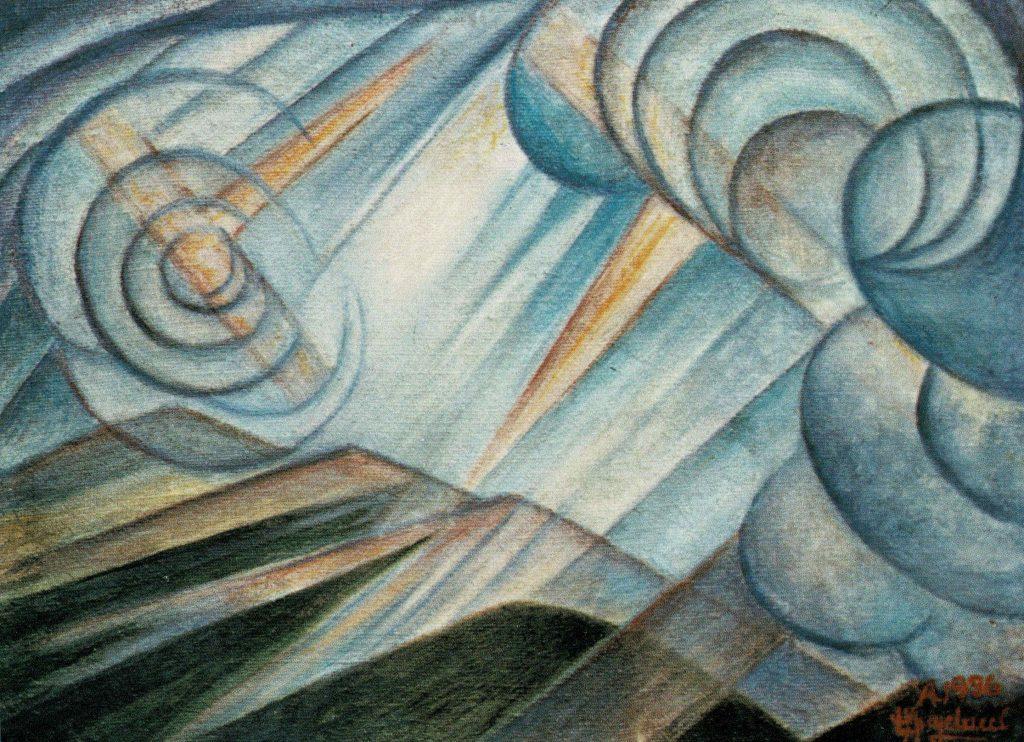 Una delle opere dell'artista che saranno esposte alla mostra