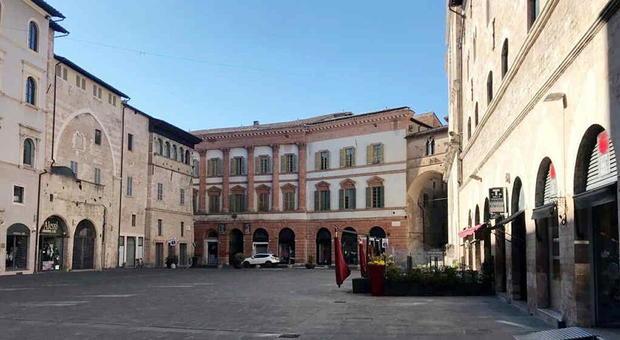 Il centro di Foligno