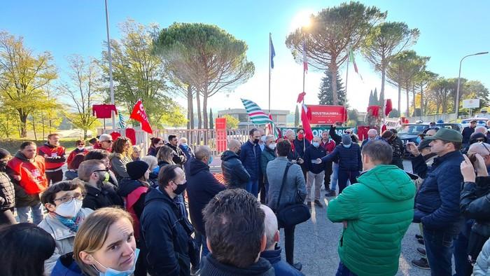 I lavoratori di Industria Umbria