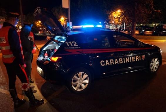 Carabinieri sul posto