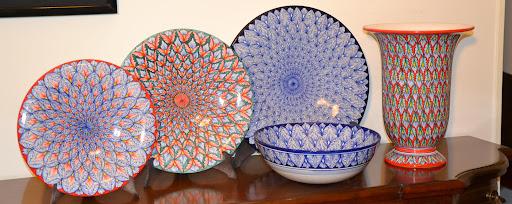 Una ceramica di Deruta